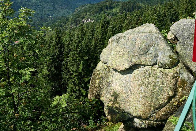 Gesteinsformation: Alte vom Berg